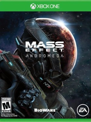 Mass Effect Andromeda Xbox One cover