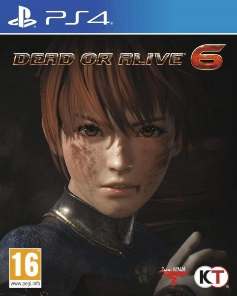 Dead or Alive 6 Playstation 4 cover