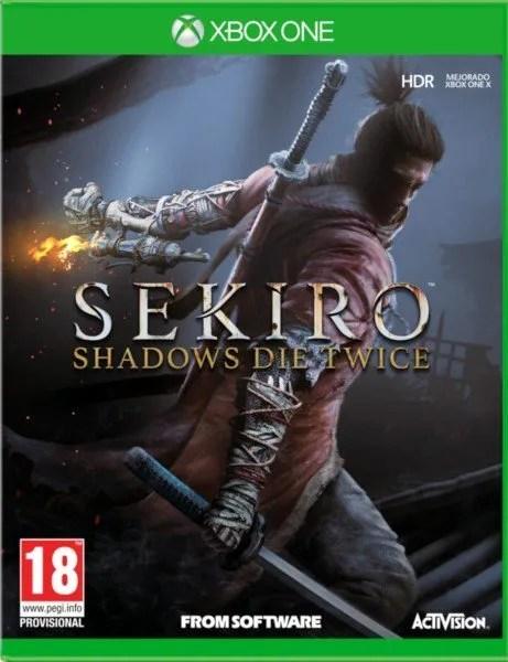 Sekiro Shadows Die Twice Xbox One cover