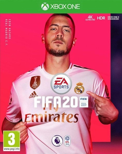 FIFA 20 Xbox One game cover