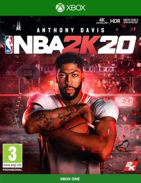 NBA 2K20 Xbox One cover