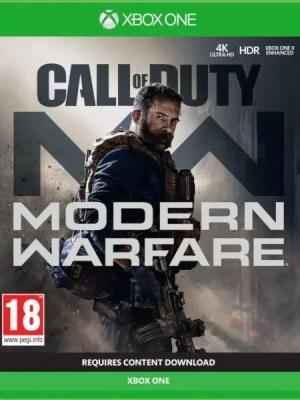 Call of Duty Modern Warfare Xbox One cover