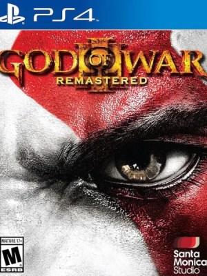 God of War 3 Playstation 4 cover