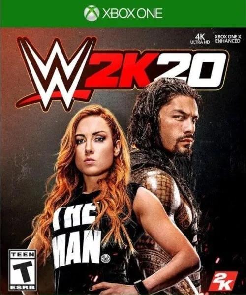 WWE 2K20 Xbox One Cover