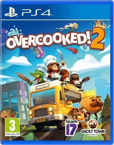 Overcooked 2 Playstation 4 cover