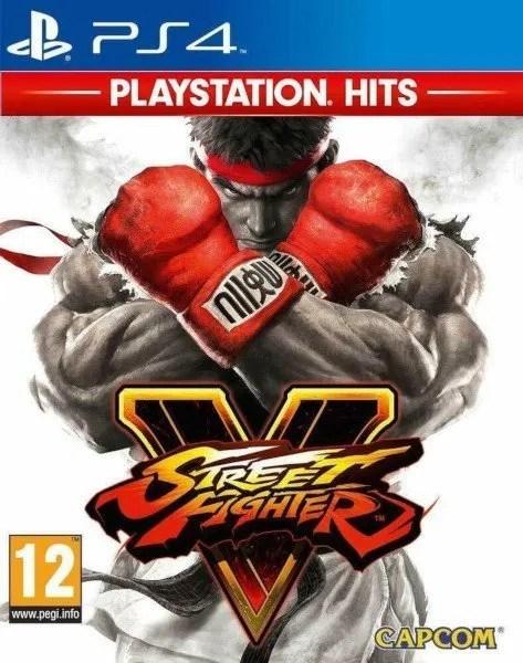 Street Fighter V Playstation 4 cover