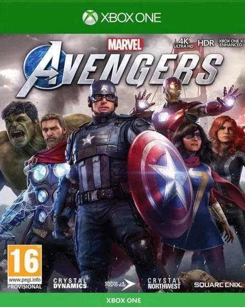 Marvel's Avengers Xbox One cover