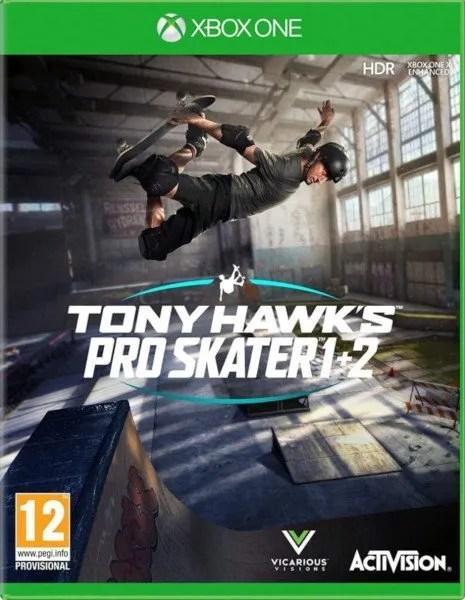 Tony Hawk's Pro Skater 1 + 2 Xbox One cover