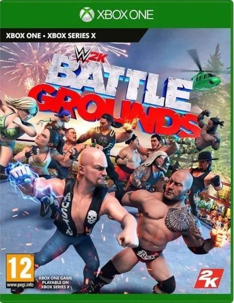 WWE 2K Battlegrounds Xbox One cover