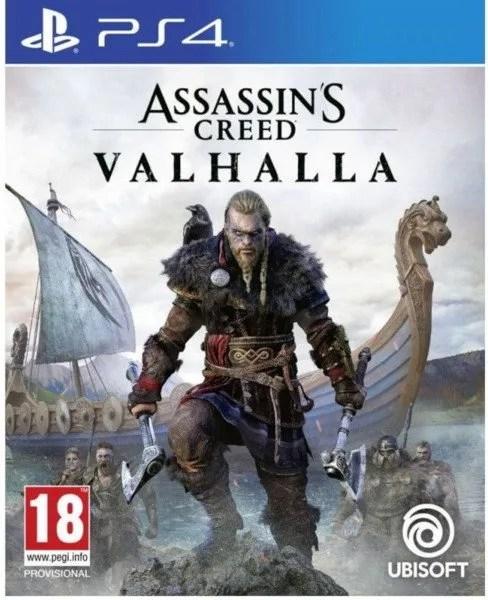 Assassins Creed Valhalla Playstation 4 cover