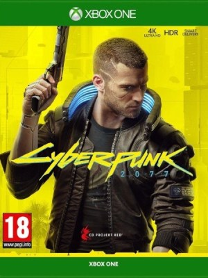 Cyberpunk 2077 Xbox One cover
