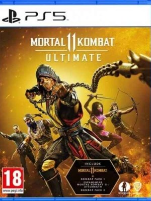 Mortal Kombat 11 Ultimate Playstation 5 cover
