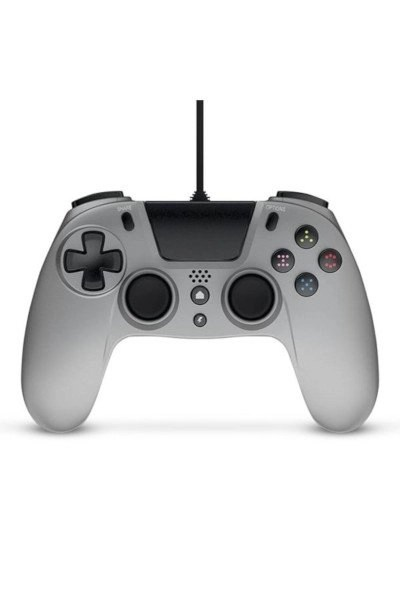 Gioteck VX-4 Wired Silver Controller