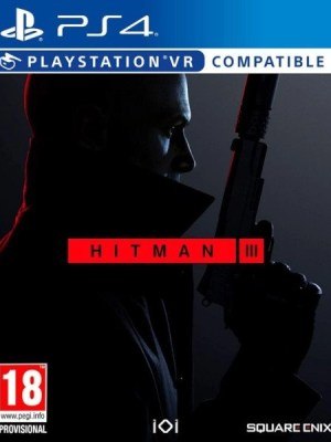 Hitman 3 Playstation 4 cover