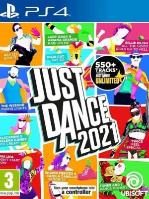 Just Dance 2021 PlayStation 4 cover