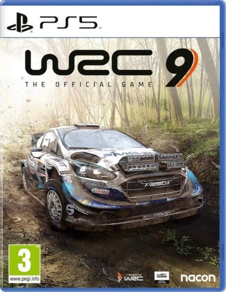 WRC 9 PlayStation 5 cover
