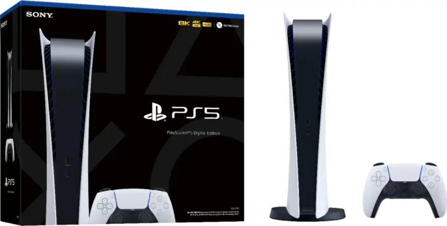 PS5 Digital Edition Console 2