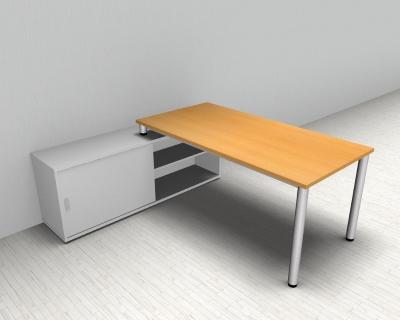Schreibtisch Mit Sideboard 2021