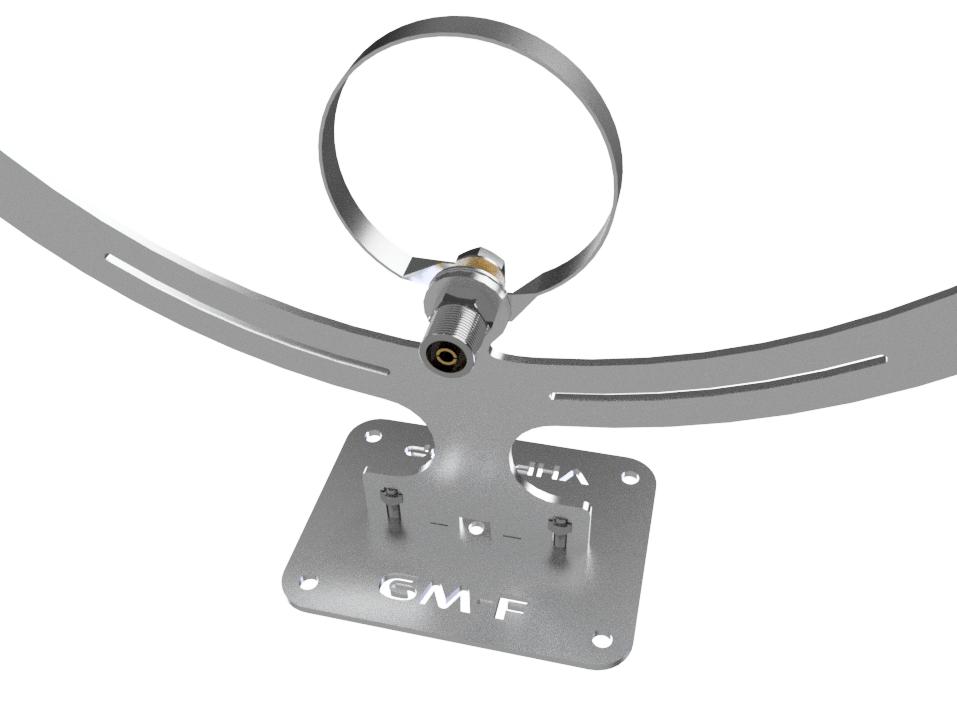 VHF Loop STL – VHF-Low Magnetic Loop Antennas