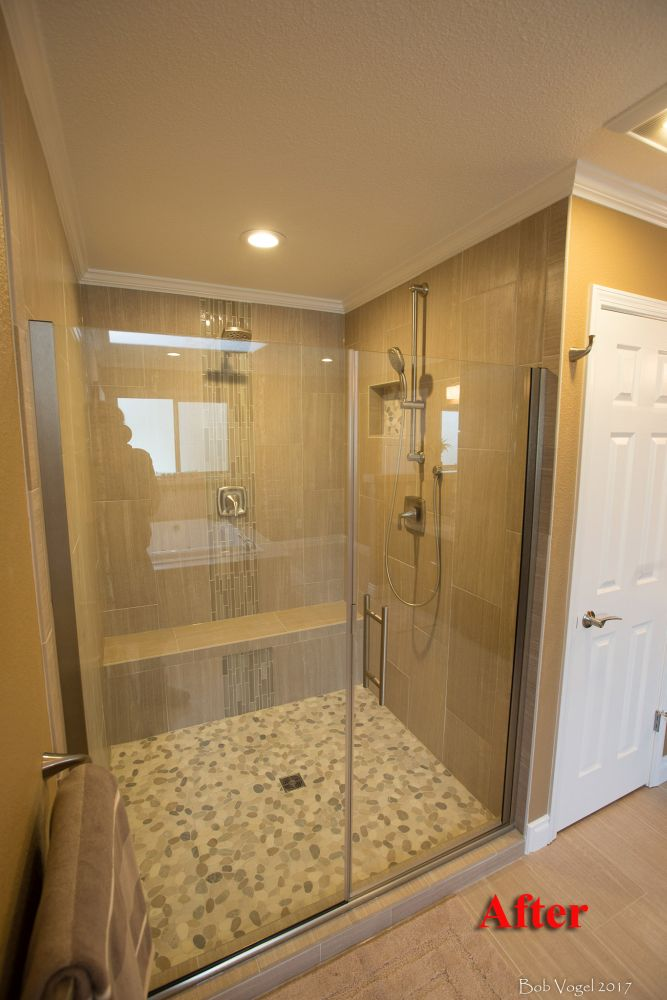 Anchorage Master Bathroom Renovation  Home Remodeling Contractor in Anchorage AK