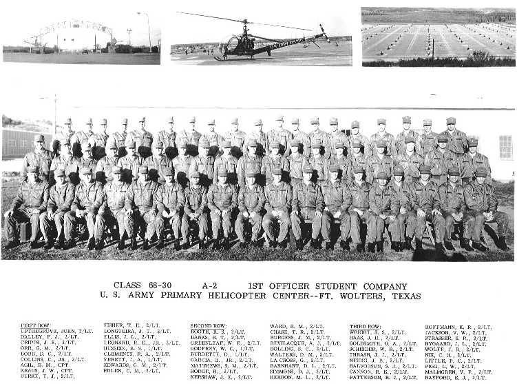Class Photographs from ORWAC flight classes