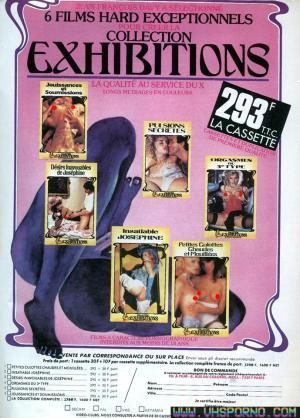 Flyer de la collection Exhibitions