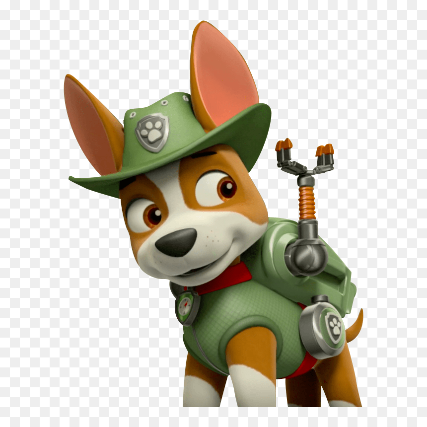 Transparent Patrulha Canina Png Paw Patrol Tracker Png Png Download Vhv