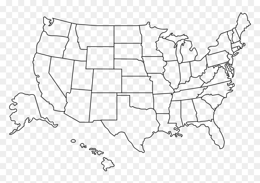 Find the perfect usa map stock photo. Outline Of The United States Transparent Us Map Outline Hd Png Download Vhv
