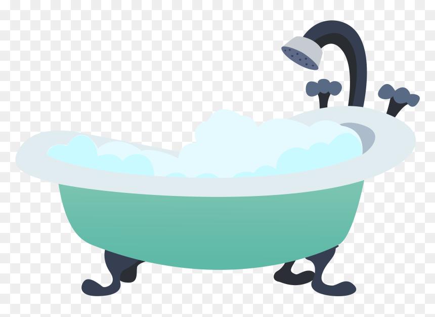 Bathtub Icons Png Png Images - Bath Tub Cartoon Png. Transparent Png - vhv