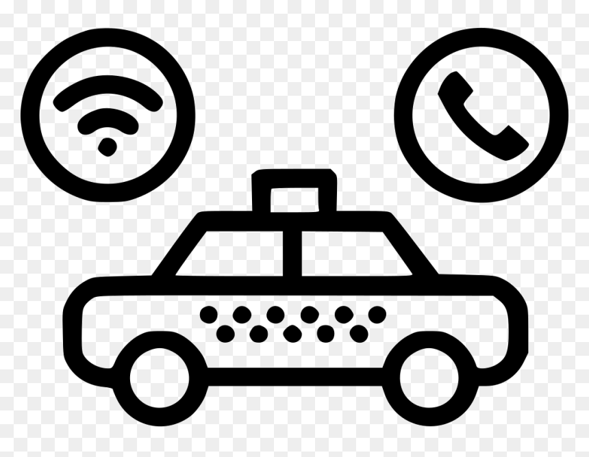 Track Taxi Call Easy Police Car Drawing Hd Png Download Vhv