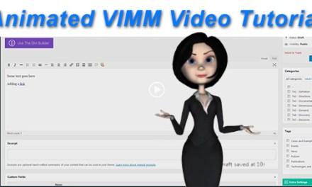 VIMM Video Tutorial
