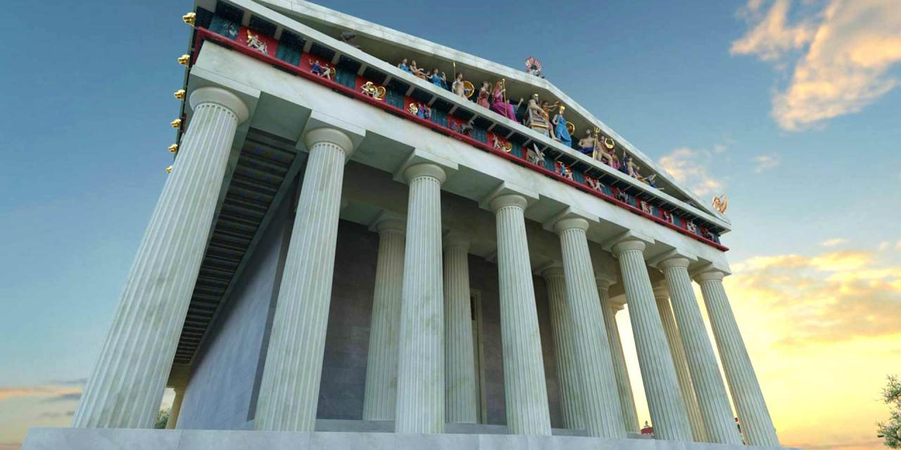 Discovering Ancient Athens through Virtual Reality.