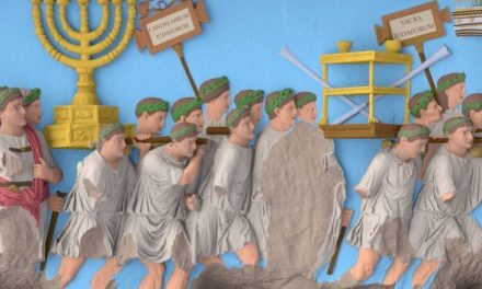 2000-Year Old Arch Of Titus' Menorah Panel Digitally Reconstructed In Vibrant Colors