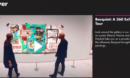 Basquiat in Barbican: 360 exhibition tour