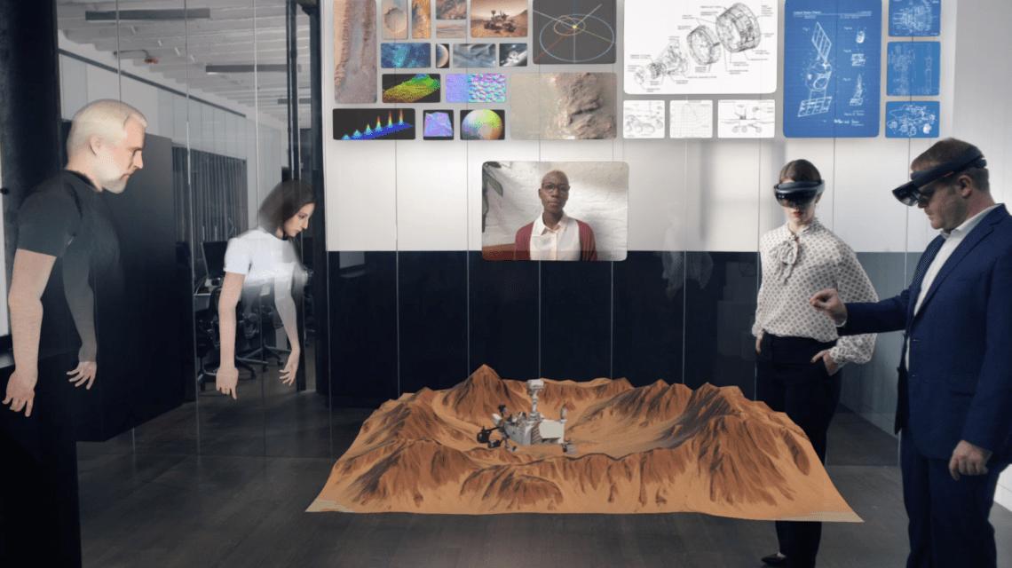 Spatial's Collaborative AR Platform