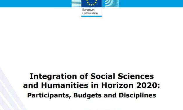 Integration of Social Sciences and Humanities in Horizon 2020: Participants, Budgets and Disciplines