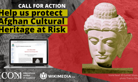 Help protect Afghanistan's cultural heritage from your laptop!
