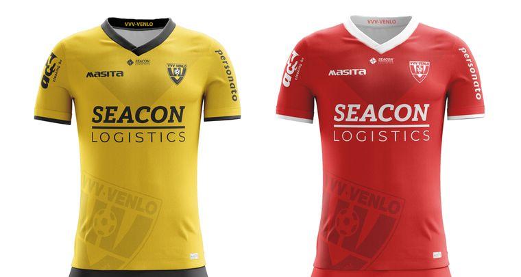 shirts van de eredivisie clubs