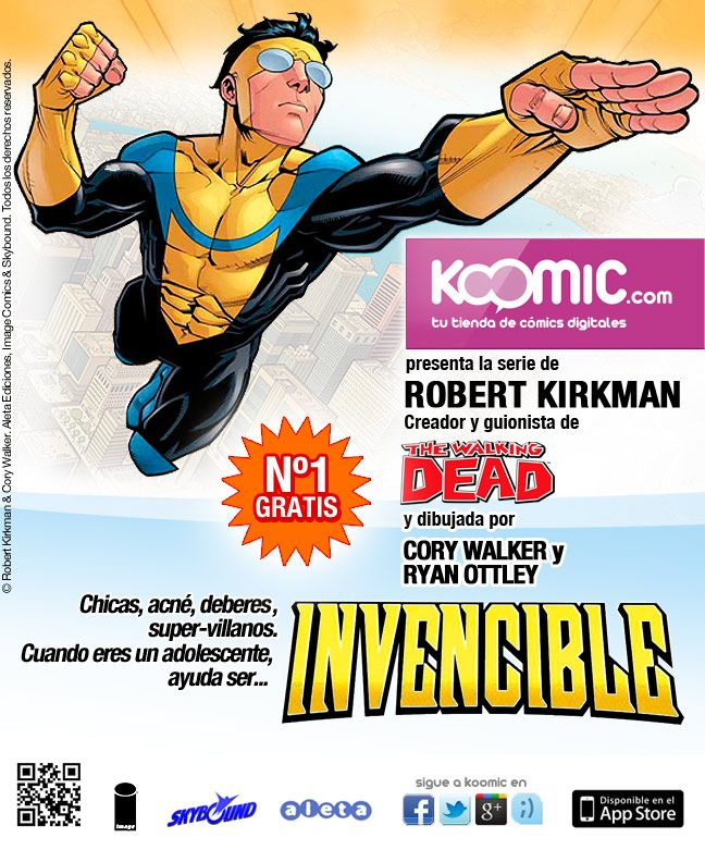 """Invencible"", en Koomic"
