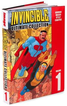 """Invencible Ultimate Collection #1"" (Robert Kirkman, Cory Walker y Ryan Ottley, Aleta Ediciones)"