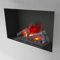Water vapor electric fireplace insert Hardy 90, made in Italy