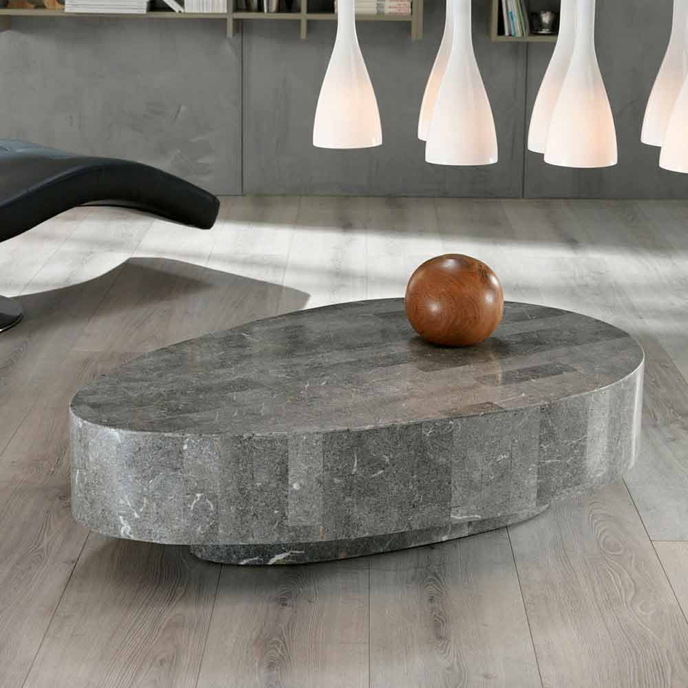 Fossil stone coffee table Vermont