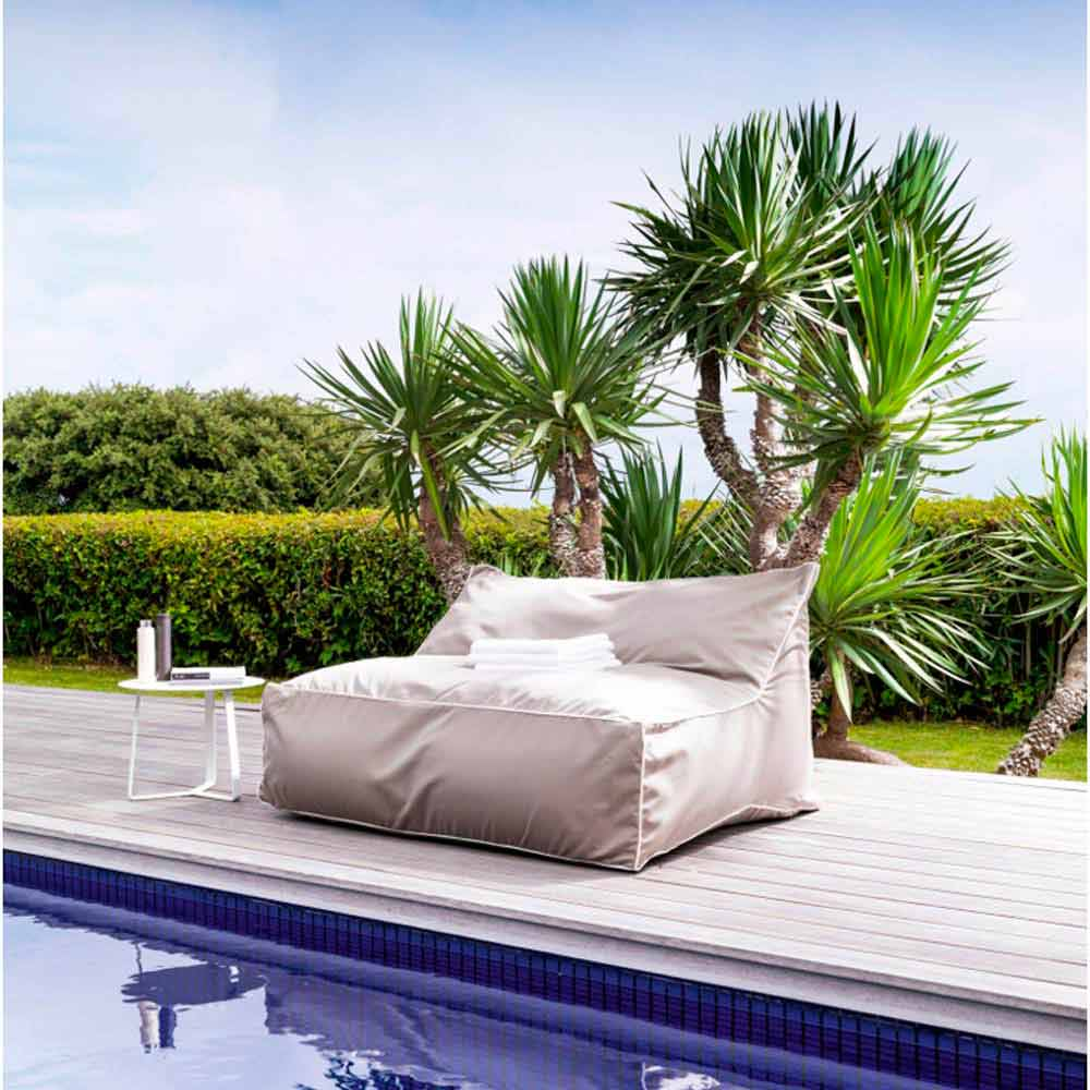 foam sofa design alstons sofas northern ireland sitzsack 2-sitzer für den garten sacco von talenti