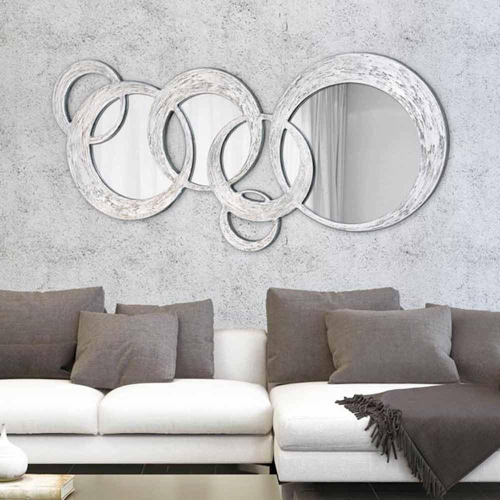 Espejo de pared de diseo Circles de Viadurini Decor en