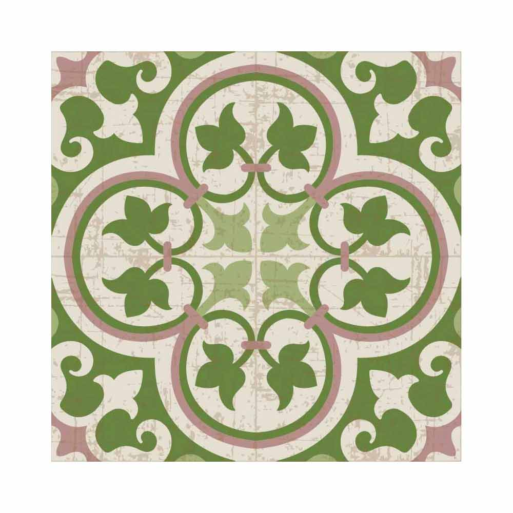 tapis de cuisine a motifs modernes en pvc et polyester lindia