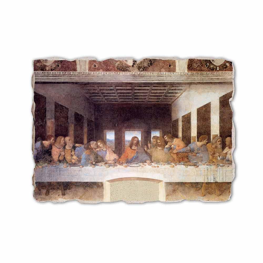 Affresco fatto in Italia Leonardo da Vinci LUltima Cena