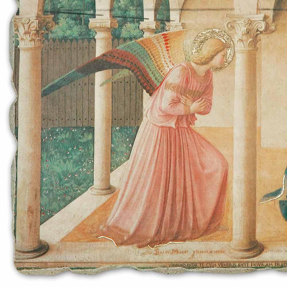Affresco riproduzione Beato Angelico Annunciazione fatto