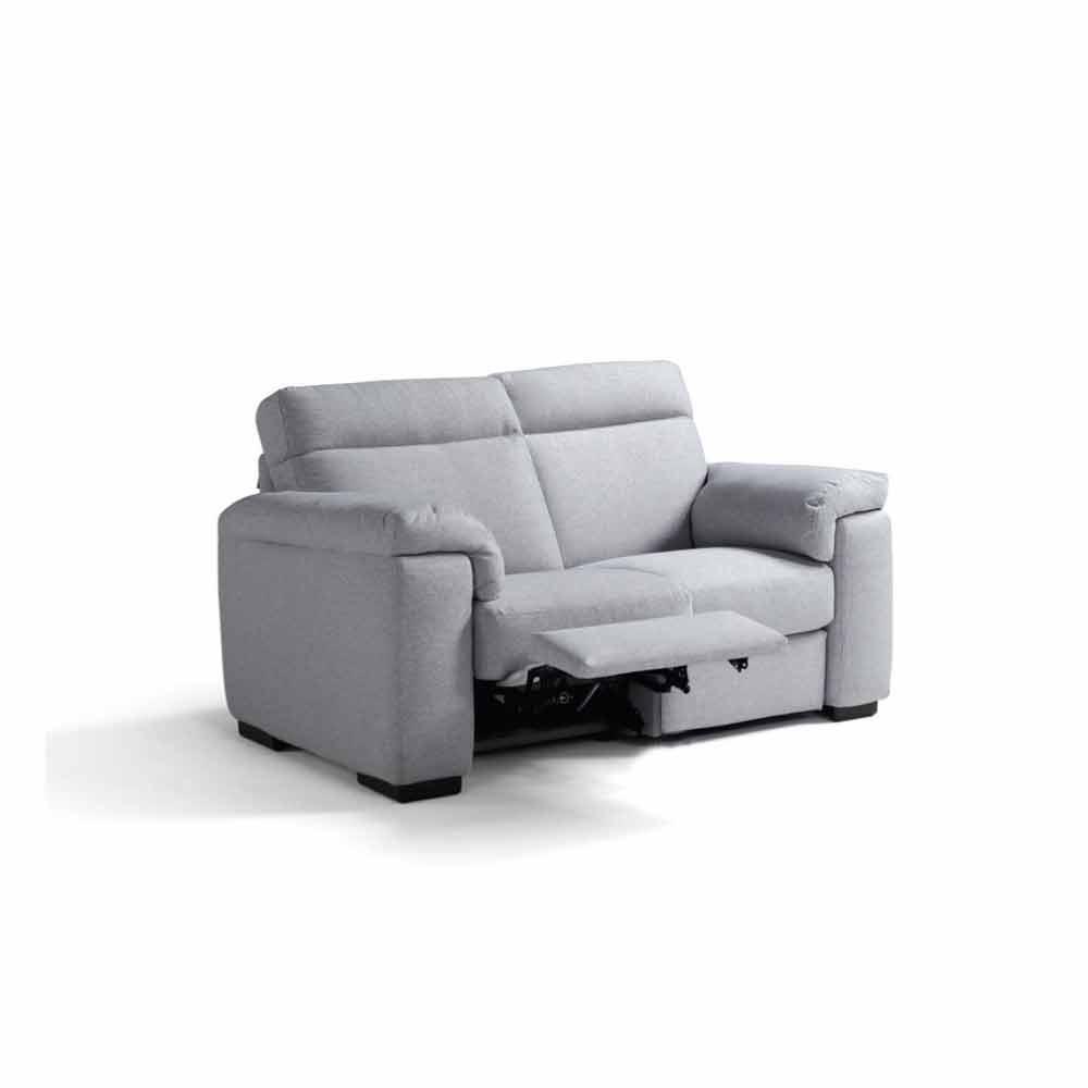 Divano relax elettrico 2 posti2 sedute elettriche Lilia