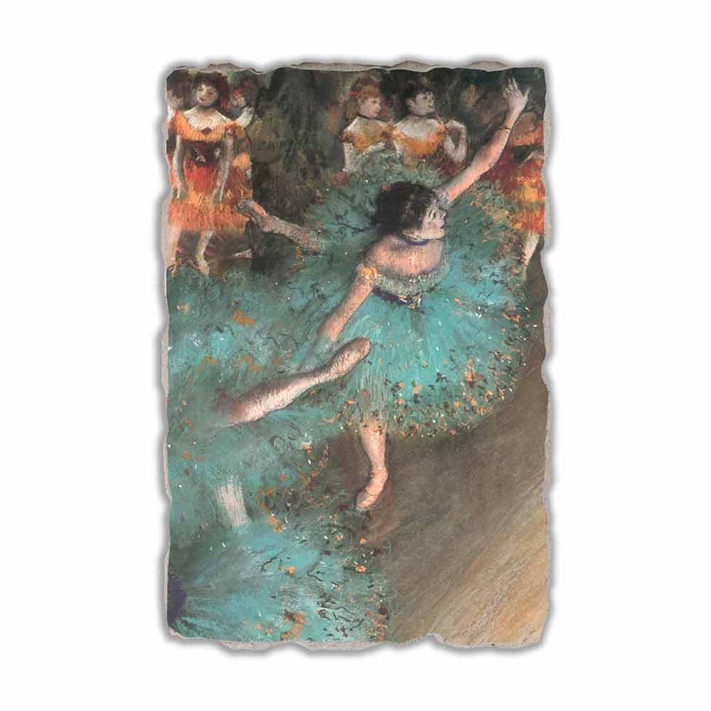 Edgar Degas Ballerina Verde 18771879