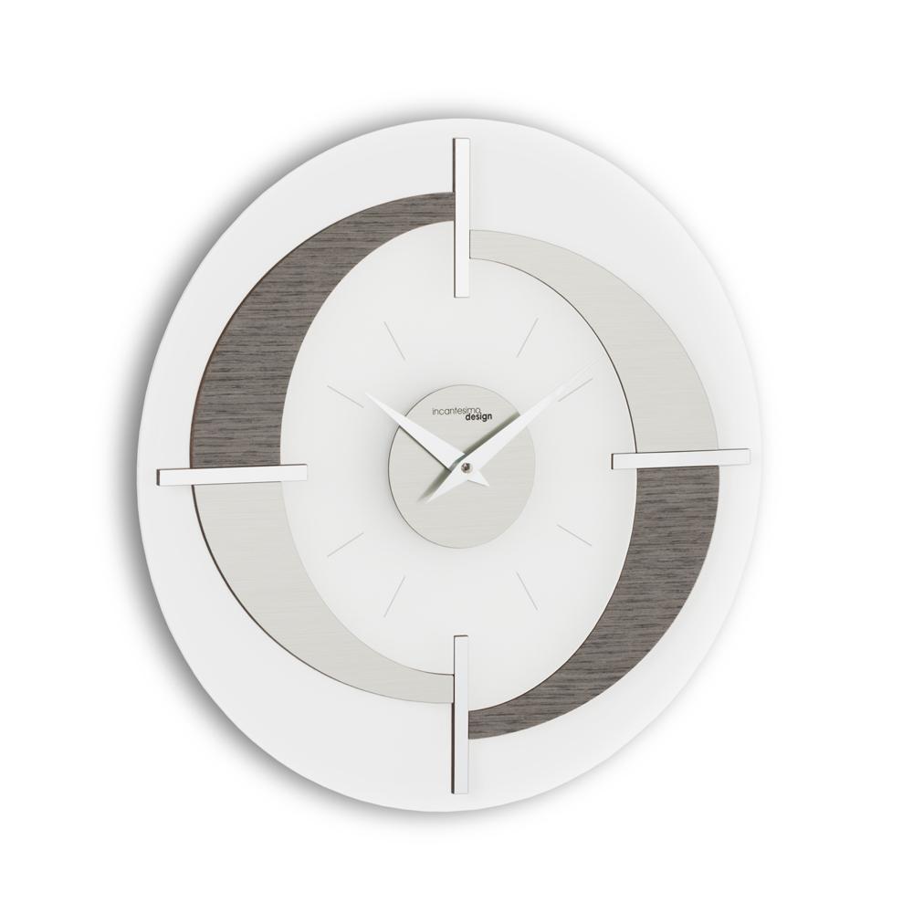 Orologio da parete moderno di design Giove fatto in Italia